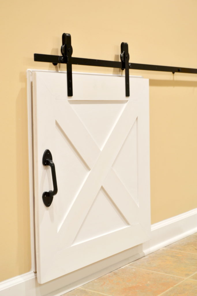 Plywood Pretty Challenge Mini Barn Door
