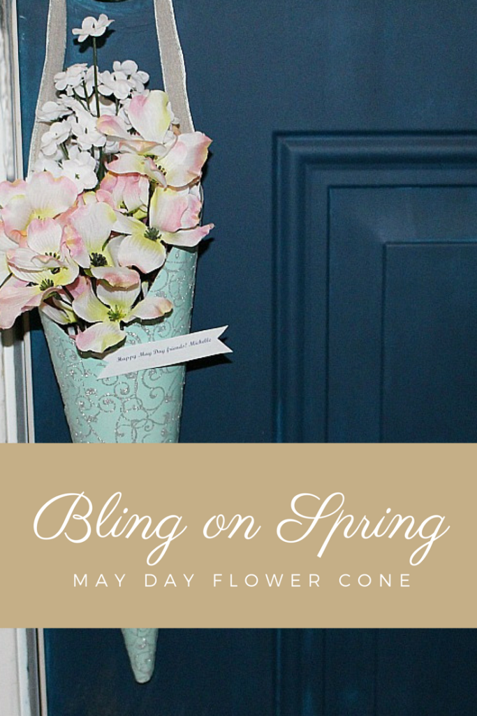 Bling on Spring Make A May Day Flower Cone Our Crafty Mom Pinterest.jpg