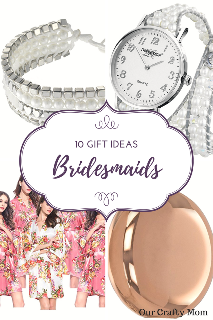 Wedding-10 Gift Ideas Your Bridesmaids Will Love Our Crafty Mom