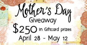 Mother's Day Giveaway $250 Gift Card and Gift Card Holder Tutorial
