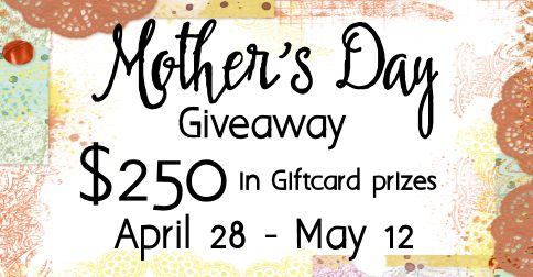 Mother's Day Giveaway $250 Gift Card & Gift Card Holder Tutorial