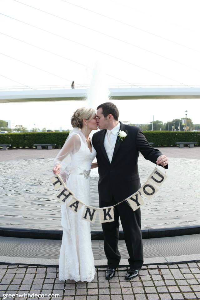 Green-With-Decor-Wedding-thank-you-picture