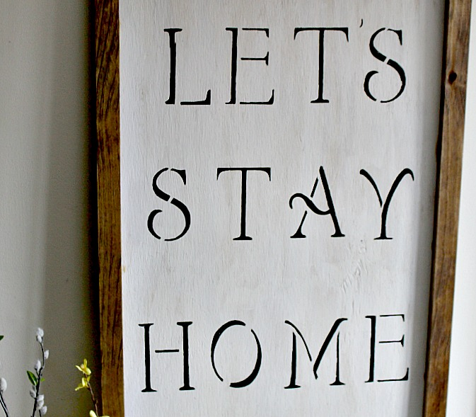 How To Make A Farmhouse Sign Our Crafty Mom