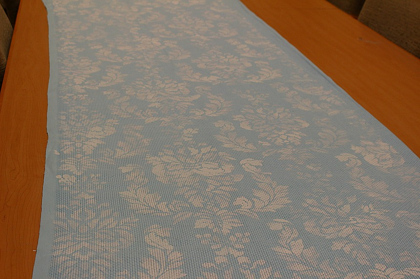 Make Your Own No Sew Stenciled Curtains Our Crafty Mom