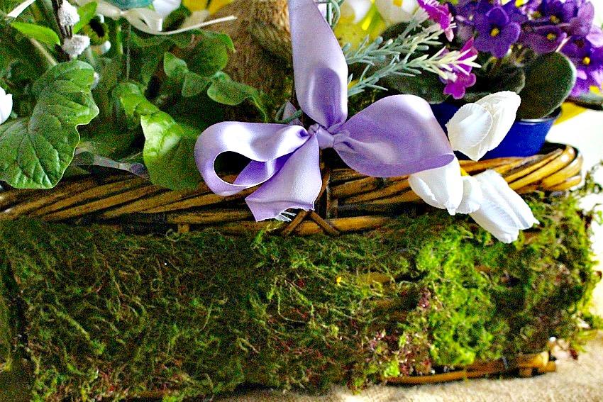 Martha Stewart Inspired Easter Basket Blog Hop Our Crafty Mom