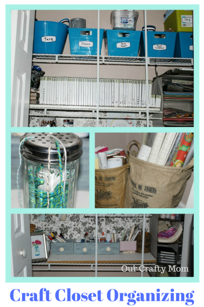 Spring Cleaning - Tips For Organizing A Small Craft Closet