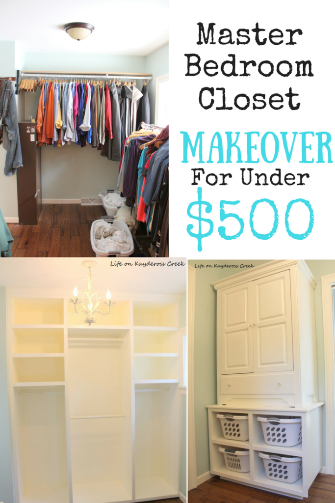 http://mylifeonkayderosscreek.com/master-bedroom-closet-makeover
