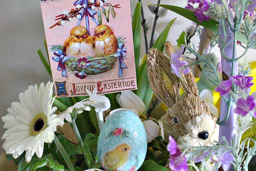 Martha stewart inspired easter basket blog hop our crafty mom negle Images