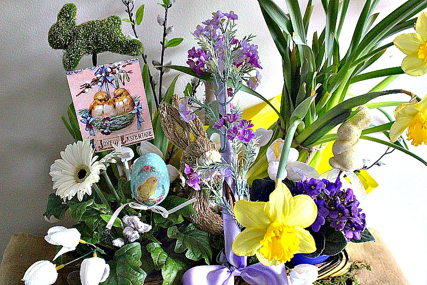 Martha Stewart Inspired Easter Basket Our Crafty Mom