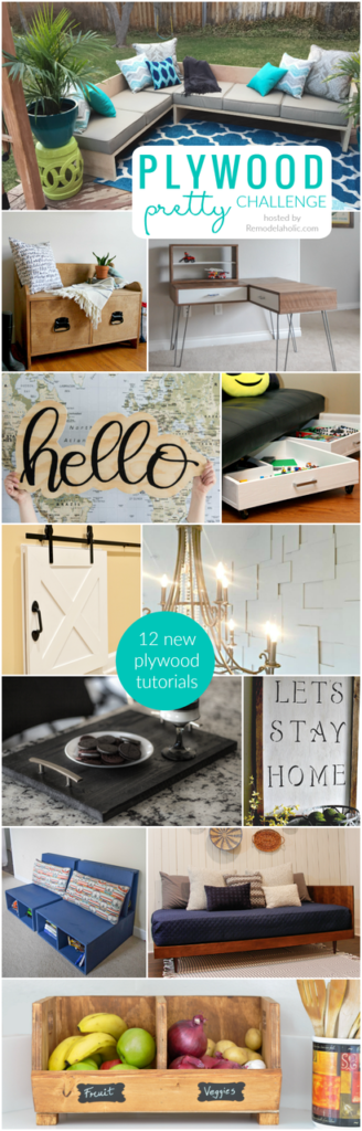 Plywood Pretty Challenge Pinterest Our Crafty Mom