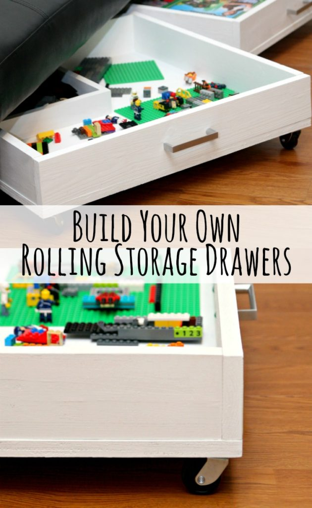 Rolling Storage Drawers 4