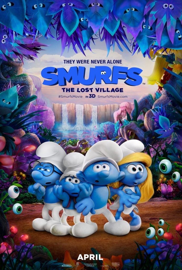 Candy Bark Treat Bags Inspired by Smurfs The Lost Village & Giveaway Our Crafty Mom