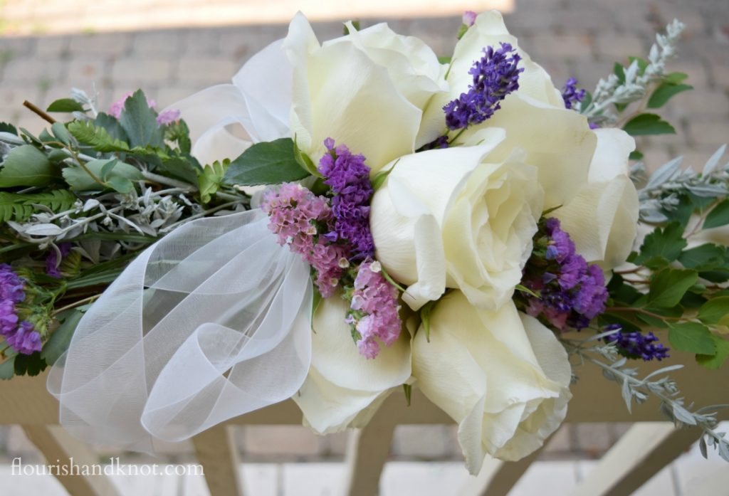 Flourish and Knot cascade-bouquet12-1