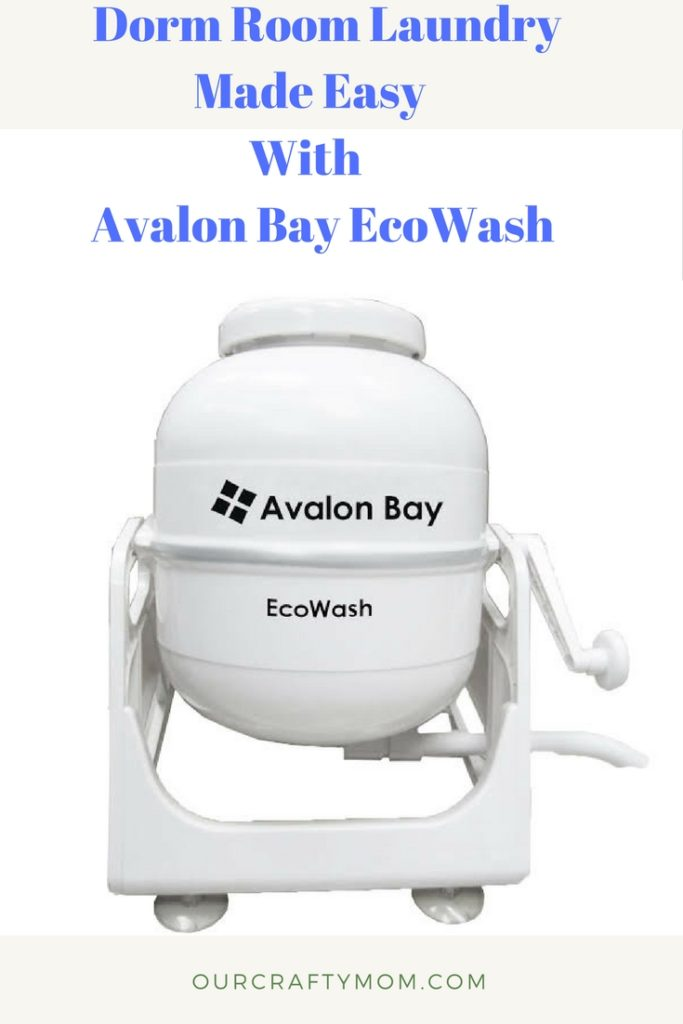 Dorm Room Laundry Made Easy With Avalon Bay Eco Wash Our Crafty Mom