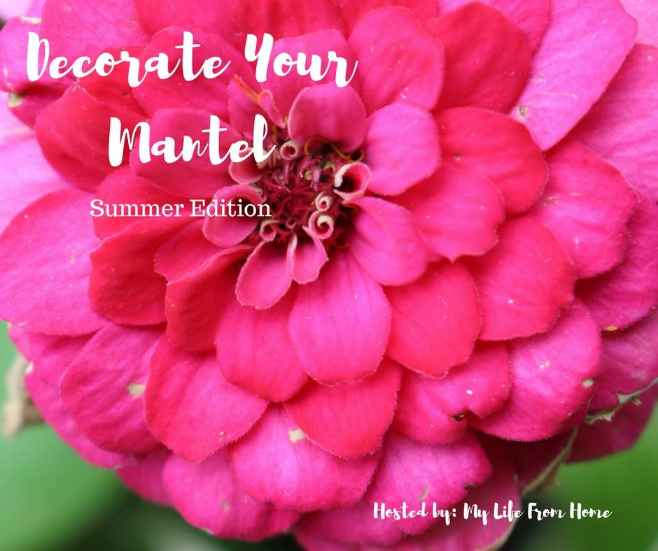 Summer Mantel Decorating Ideas Our Crafty Mom