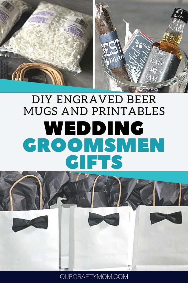 wedding groomsmen gifts diy