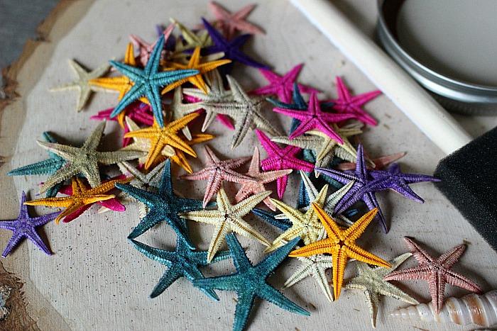 DIY Beach Themed Coasters From Mason Jar Lids Our Crafty Mom 4