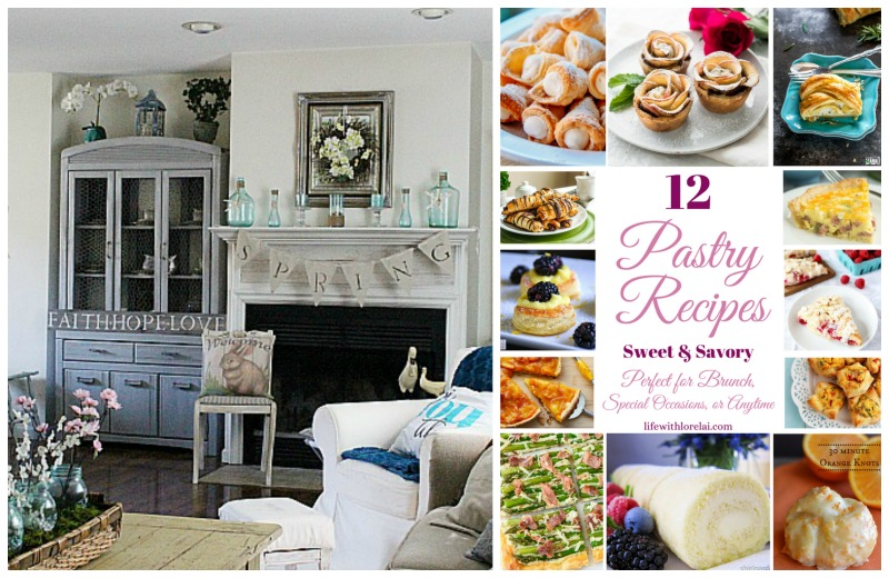 Come join the fun and link your blog posts at the Home Matters Linky Party 134. Find inspiration recipes, decor, crafts, organize -- Door Opens Friday EST.