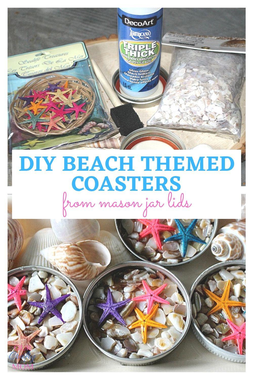 beach themed coasters
