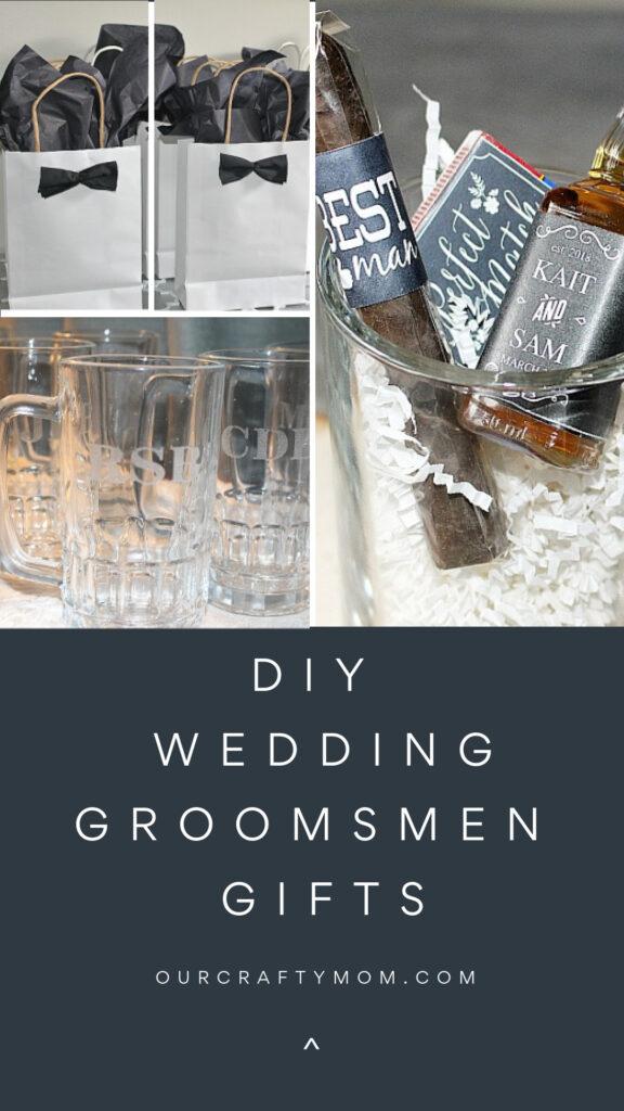 diy wedding gifts for groomsmen