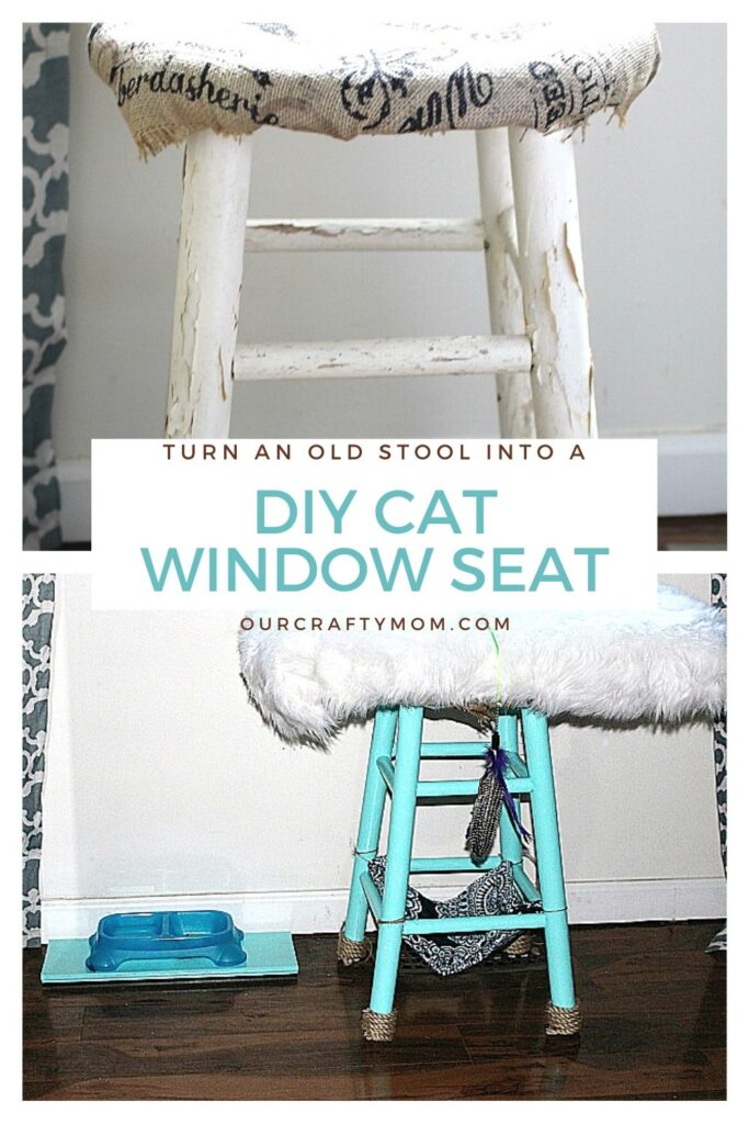 diy cat window seat