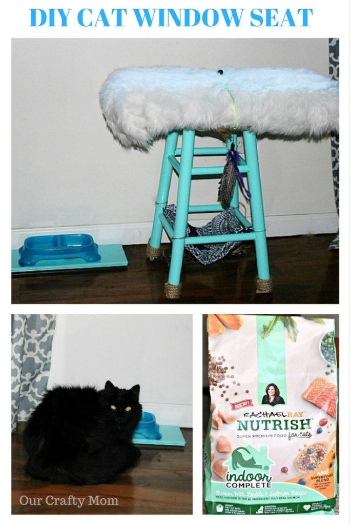 DIY CAT WINDOW SEAT OUR CRAFTY MOM