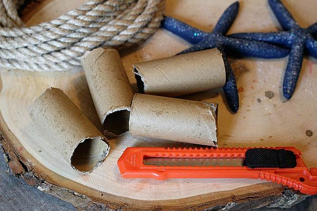 DIY Coastal Napkin Rings With Starfish Our Crafty Mom 3