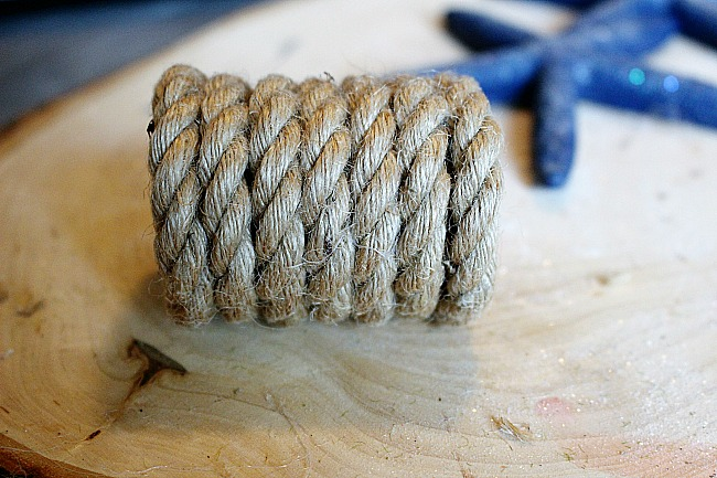 DIY Coastal Napkin Rings With Starfish Our Crafty Mom 5