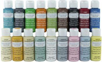 Birthday Giveaway-Day 2-DecoArt Chalky Finish Bundle-Our Crafty Mom
