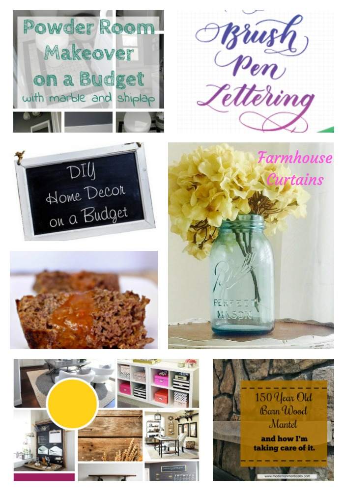Come join the fun and link your blog posts at the Home Matters Linky Party 146. Find inspiration recipes, decor, crafts, organize -- Door Opens Friday EST.