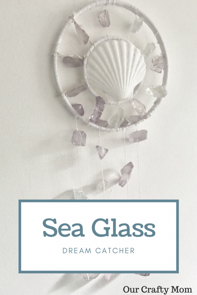 Sea Glass Dream Catcher Our Crafty Mom