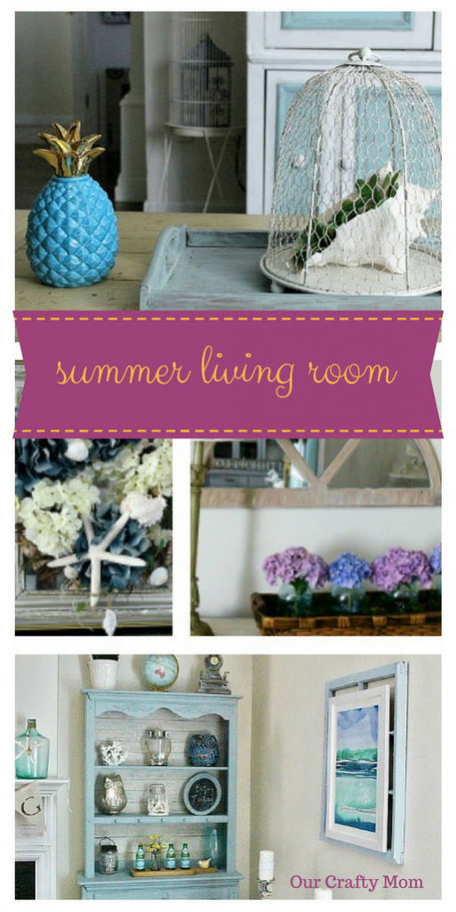 Summer Living Room ~ Room by Room ~ Week 3