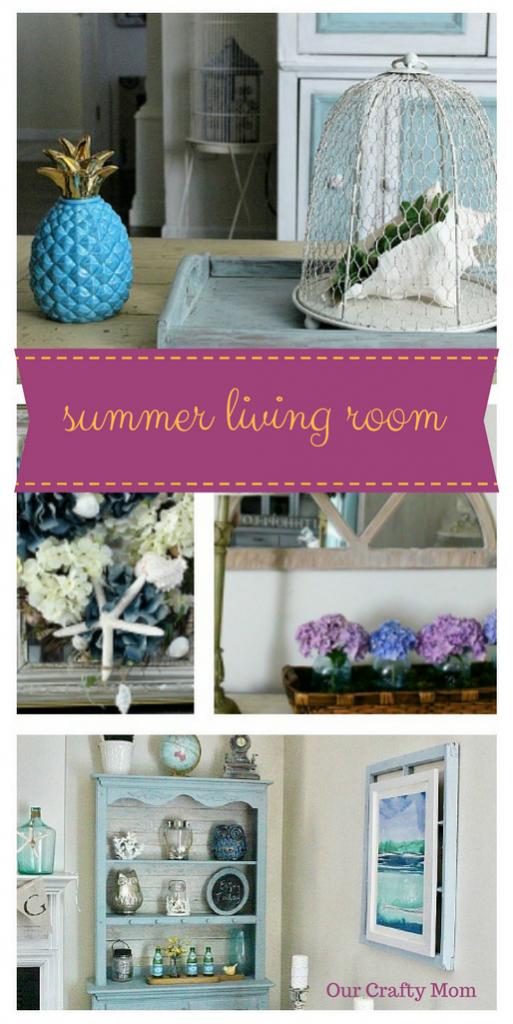 Summer Living Room ~ Room by Room ~ Week 3