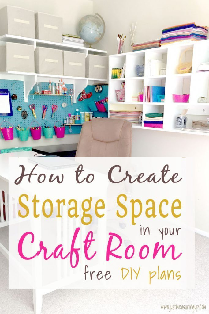 How To Build A Storage Filled Craft Corner - Crafting A Family - HMLP 144 Feature