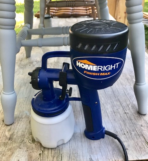 Birthday Giveaway Week Day 1 HomeRight Paint Sprayer Our Crafty Mom