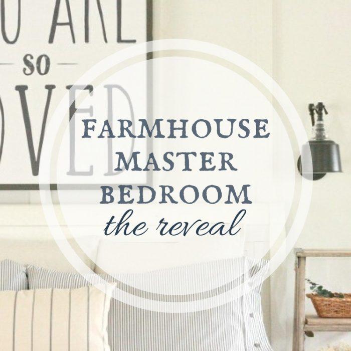 The Ultimate Farmhouse Master Bedroom - Twelve On Main - HMLP 144 Feature