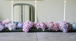 Upcycle A Chicken Feeder Into A Table Centerpiece