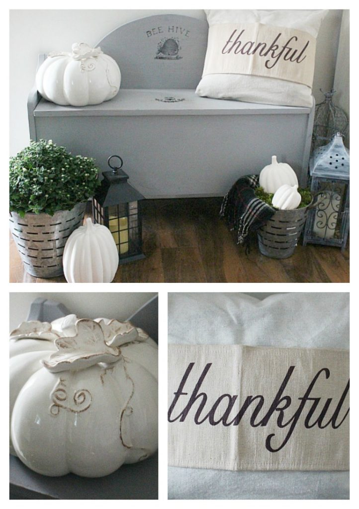 Create A Farmhouse Fall Vignette