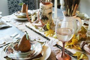 Create A Neutral Rustic Fall Tablescape & Blog Hop