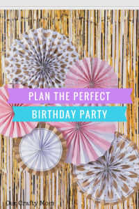 Plan A Pink and Gold Birthday Party Fit For A Princess
