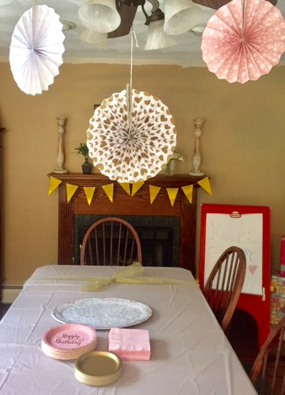 Plan A Pink And Gold Birthday Party Fit For A Princess Our Crafty Mom