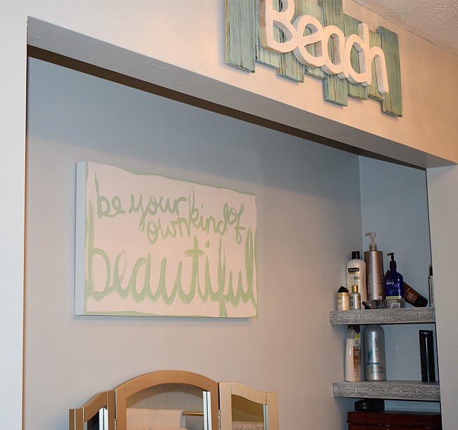tour a bright coastal home with diy custom touches our crafty mom