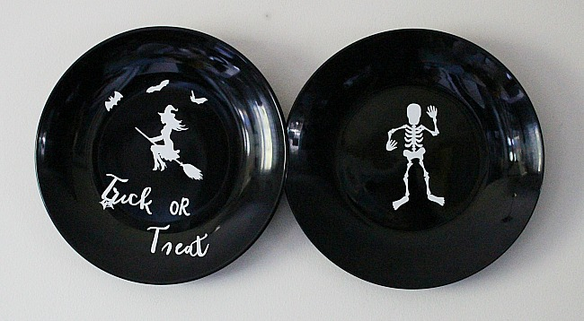 DIY Halloween Plates Our Crafty Mom