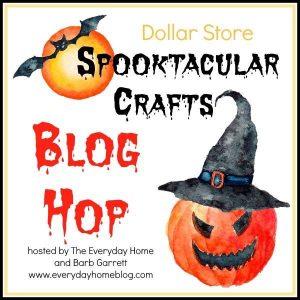 Dollar Store Halloween Craft