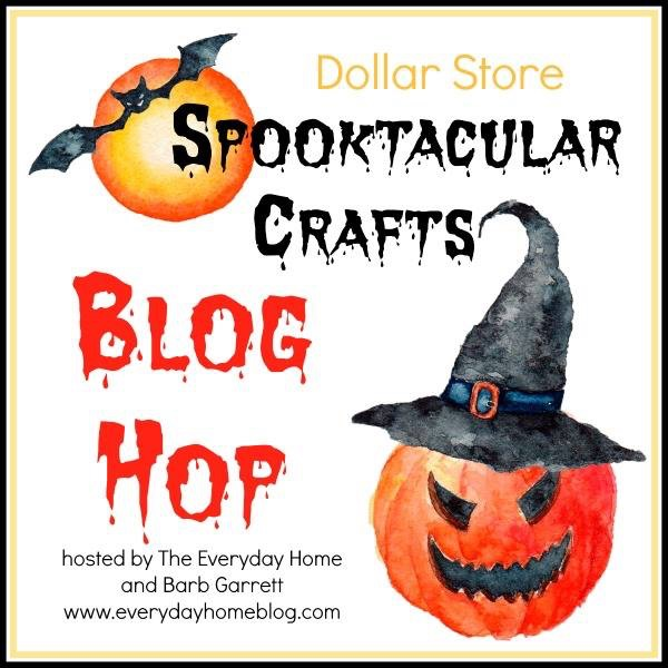 Dollar Store Halloween Craft