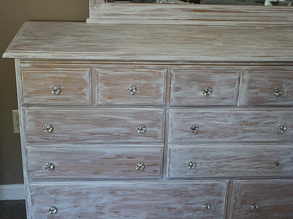 How To Whitewash Furniture-ORC Week 3-Master Bedroom Our Crafty Mom 3