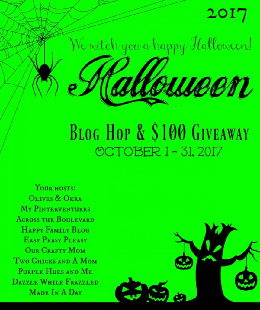 Halloween Giveaway Our Crafty Mom