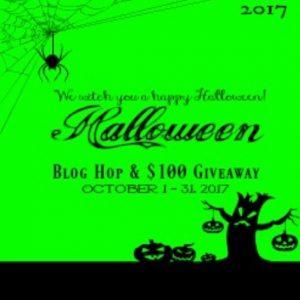 Halloween Blog Hop 2017 & Giveaway