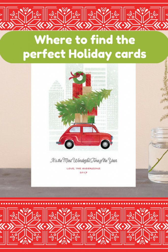 Where to find the perfect Holiday cards Our Crafty Mom