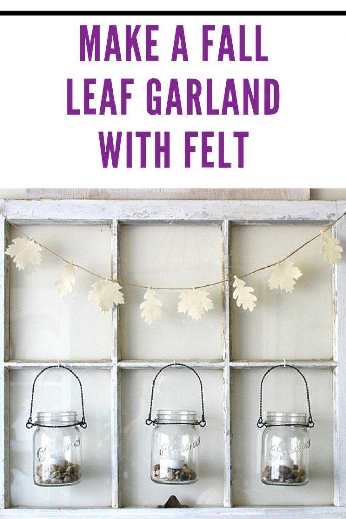 MAKE A FALL LEAF GARLAND WITH FELT